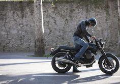 The legend of Moto Guzzi V7 bikes and Scott Pommier's artwork