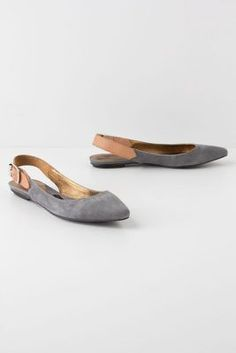 slingback skimmers ++ pied juste