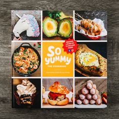 First Official So Yummy Cookbook (Hardcover Edition) – So Yummy Store Cookbook Recipes, Dessert Recipes, Cooking Recipes, Yummy Recipes, Cooking Hacks, Dessert Food, Easy Desserts, Cheesy Garlic Bread, Christmas Cooking