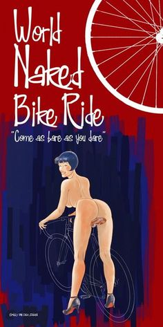 World Naked Bike Ride ~ Emilio van der Zuiden