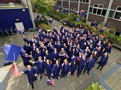 Graduates of the MSc in Finance and Investments Programme (MSc F&I) at Rotterdam School of Management, Erasmus University (RSM) recently received. Cap And Gown, Rotterdam, Finance, Investing, Graduation, Stage, University, Management, Gowns