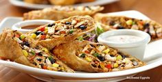 Claim Jumper Restaurant Copycat Recipes: Southwest Egg Rolls