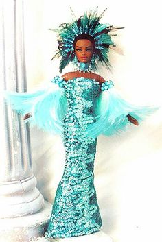 OOAK barbie pageant dolls by NiniMomo Creations Barbie Miss, Barbie And Ken, Diva Fashion, Fashion Dolls, My Doll House, African American Dolls, Beautiful Barbie Dolls, Black Barbie, Barbie World