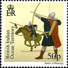 Battle of Hastings stamp