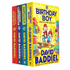 David Baddiel Collection 4 Books Set Birthday Boy, The Parent Agency, The Person