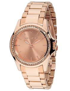 Yves Camani Montpellier Womens Wrist Watch Quartz Analog Stainless Steel Rosegold Dial -- Find out more about the great product at the image link.Note:It is affiliate link to Amazon. #stars