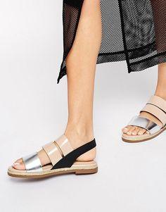 new look sneaker wedge, New Look – Driver Schuhe aus braunem