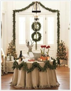 Elegant Christmas display!