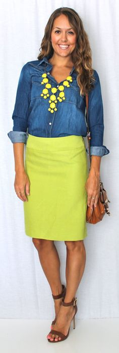 Today's Everyday Fashion: Citrus — J's Everyday Fashion
