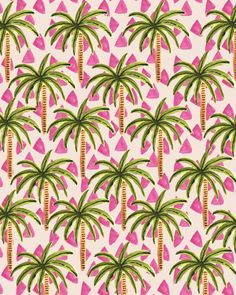 Tropical Pattern, could do triangles in background Pattern Art, Pattern Design, Tropical Pattern, Pretty Patterns, Summer Patterns, Pattern Illustration, Grafik Design, Textile Patterns, Background Patterns