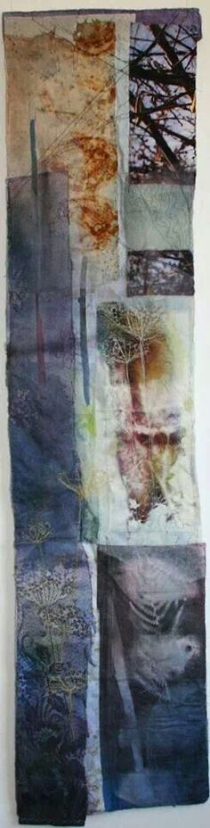 Cas Holmes - Catkins - I just bought this from Cas. Textile Fiber Art, Textile Artists, Cas Holmes, Creative Textiles, Natural Forms, Fabric Art, Mixed Media Art, Collage Art, Printmaking