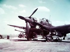 JU-87G-2 Stuka with 50 mm anti tank gun