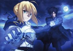 Fate/Zero, Emiya Kiritsugu, Saber