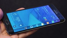 Meet the Galaxy Note Edge, Samsung's first smartphone with a bent display Galaxy Note 4, Samsung Galaxy S6, Ifa Berlin, Global Mobile, Phone Hacks, Cool Tech, Diy Phone Case, Smartphone, Gadgets