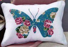 """Вышивка """"Цветочная бабочка"""""""