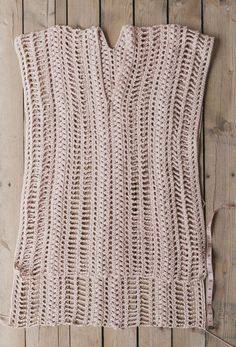 Since this piece is so simple, it's incredibly easy to customize. You can make it shorter or longer depending on your # crochet clothes free summer dresses Free Crochet Pattern for the Easy, Breezy Swim Cover — Megmade with Love Pull Crochet, Gilet Crochet, Mode Crochet, Crochet Cover Up, Crochet Tunic, Crochet Skirts, Crochet Clothes, Crochet Vests, Skirt Pattern Free