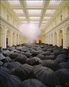 Umbrella Installation   Matej Andraž Vogrincic