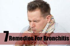 7 Remedies For Bronchitis