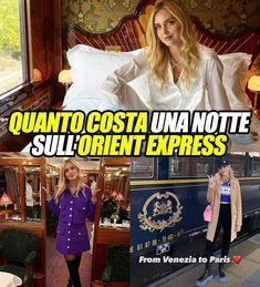 Chiara Ferragni sull'Orient Express. Praticamente un hotel a 5 stelle sui binari: quanto costa una notte sul treno extra lusso. FOTO E PREZZI