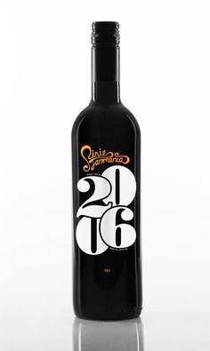 pirie tasmania 2006-vintage wine bottle  designed by magnus henriksen