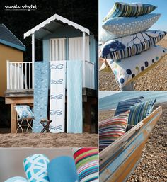 New British brand, Scion, recently released it's first collection of prints, weaves and wallcoverings.