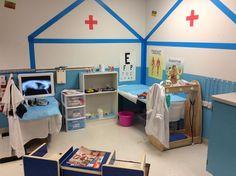 Doctors office, hospital, vet clinic