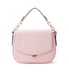 I just love this baby pink handbag. Trust me, you can do it. Just keep the rest of the look simple. - Briana #TangerFashionista #TangerOnTrend Blog: tangerontrend.tangeroutlet.com/2016/12/05/candy-crush-accessories/