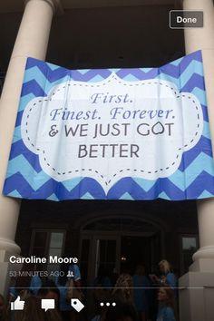 university of Alabama ADPi bid day! SO CUTE! <>