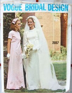 This was my bridal gown in 1969!