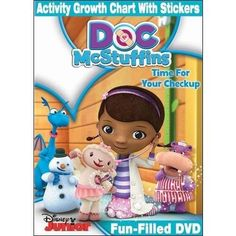Doc McStuffins: Time For Your Checkup (DVD   Activity Growth Chart With Stickers) (Widescreen)