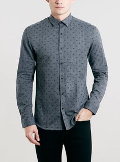 Selected Homme Grey Shirt - Topman