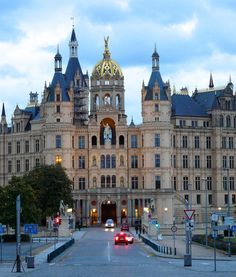 Visit Germany. Go off-the-beaten-path with a visit to Schwerin and Schwerin Palace.