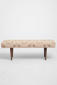 Henderson Printed Upholstered Bench - Urban Outfitters