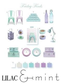 """""""Lilac and Mint"""" by maddigrace-ccc ❤ liked on Polyvore featuring interior, interiors, interior design, home, home decor, interior decorating, colorchallenge and lilacandmint"""