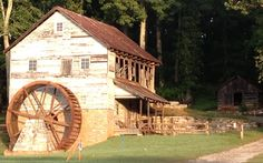 The Grist Mill at Museum of Appalachia, Clinton, TN