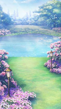 Fantasy Artwork, Fantasy Art Landscapes, Landscape Drawings, Fantasy Landscape, Landscape Art, Beautiful Landscapes, Anime Backgrounds Wallpapers, Anime Scenery Wallpaper, Landscape Wallpaper