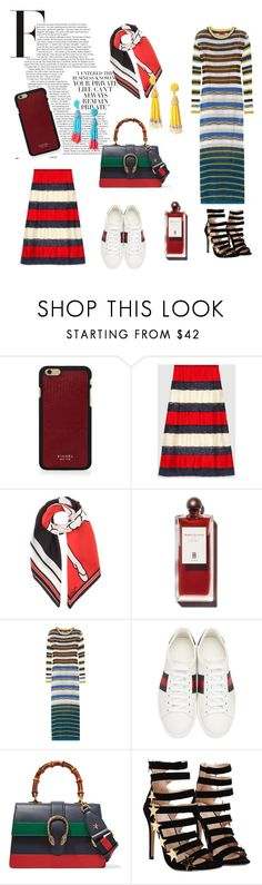 """Spring Stripes"" by shopsmth ❤ liked on Polyvore featuring Vianel, Gucci, Givenchy and Missoni"