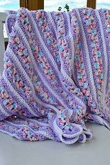 Ravelry: Mile A Minute Baby Afghan (archived) pattern by Caron Design Team
