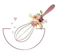 Baking Logo Design, Cake Logo Design, Dessert Logo, Eid Crafts, Frida Art, Poster Background Design, Bakery Logo, Flower Logo, Instagram Highlight Icons