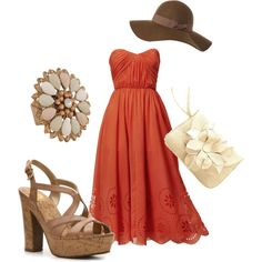 Summer Maxi, created by jhayden27 on Polyvore  This is the style I want this summer!