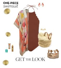 """""""The Look"""" by ccoss ❤ liked on Polyvore featuring Marysia Swim, BLANK, Blowfish, Forever 21, Stella & Dot, Kate Spade, GetTheLook and Swimsuits"""