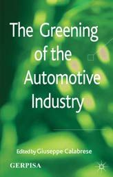 The greening of the automotive industry / edited by Giuseppe Calabrese, in association with GERPISA, le Réseau International de l'Automobile. Toledo campus. Call number : HD 9710 .A2 .G74 2012