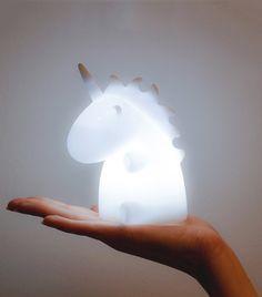 Uni die Einhorn Nachttisch Lampe