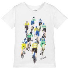 Joules Big Boys L//S Good Times Roll Applique Tee