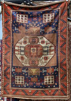 """Caucasian carpet, Caucasian carpet, 6'5"""" x 4'4"""""""