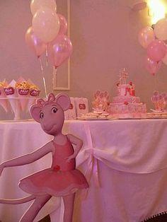 MyTotalNet.com: Children Parties, Angelina Ballerina Decoration 2