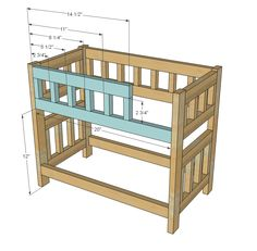 Best Ana White Build A Camp Style Bunk Beds For American Girl 400 x 300