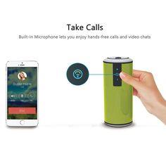 marsboy Bluetooth Lautsprecher Sport Lautsprecher Wasserdicht Outdoor Subwoofer…