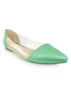Loving this Green Adsit Flat on #zulily! #zulilyfinds $14.99, usually 30.00