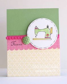 Sew Suite in Wild Wasabi by sherribarron - Cards and Paper Crafts at Splitcoaststampers